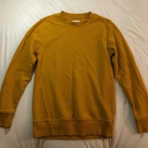 Goodfellow Yellow Sweatshirt